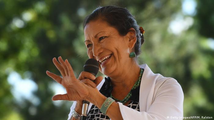 Native American Congresswoman Deb Haaland