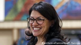 Rashida Tlaib (picture-alliance/dpa/P. Sancya)