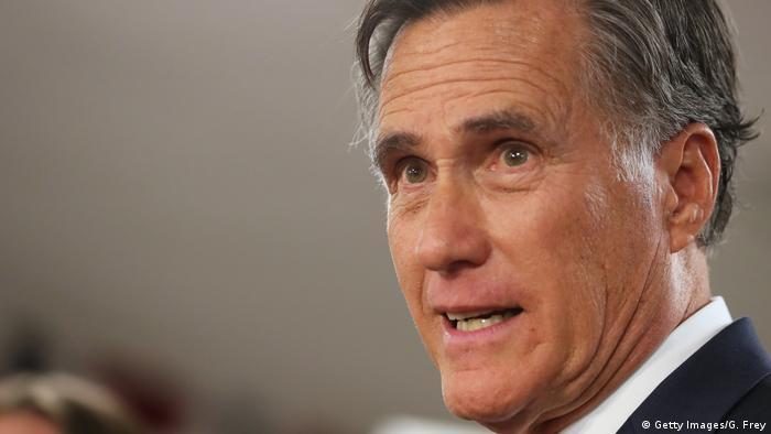 Mitt Romney stemmt sich gegen Donald Trumps Pläne für einen Truppenabzug aus Deutschland (Getty Images/G. Frey)