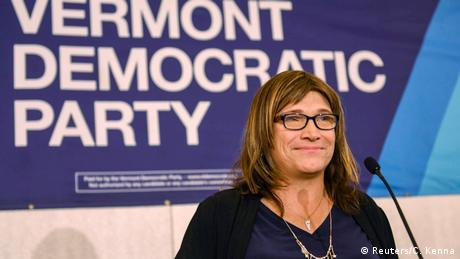 Christine Hallquist (Foto: Reuters)