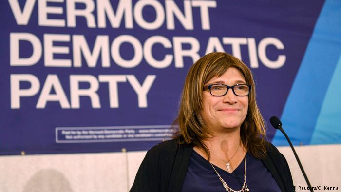 La demócrata Christine Hallquist casi se convierte en la primera gobernadora transgénero del país.