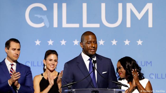 Tampoco el demócrata Andrew Gillum pudo cumplir el sueño de ser el primer gobernador afroamericano de Florida.