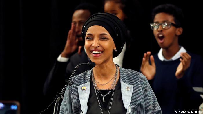 Bildergalerie US Wahlen Sieger und Verlierer Ilhan Omar (Reuters/E. Miller)