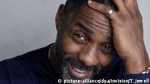ARCHIV - 21.01.2018, USA, Park City: Schauspieler Idris Elba wird portraitiert, um seinem Film «Yardie» im Rahmen des Sundance Filmfestivals zu Promoten. Der britische Schauspieler und Musiker Idris Elba (46) ist nach Ansicht des US-Magazins «People» der «Sexiest Man Alive» 2018. Foto: Taylor Jewell/Invision/AP/dpa +++ dpa-Bildfunk +++ |