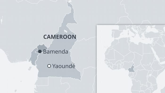 Karte Kamerun EN