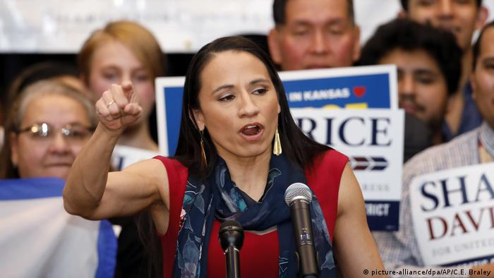 Sharice Davids (Photo: picture-alliance/dpa/AP/C.E. Braley)