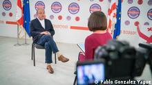 Nemtsova Interview mit dem Präsidentschaftskandidat Grigol Waschadse