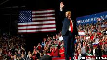 USA, Cleveland, Ohio: Präsident Donald Trump