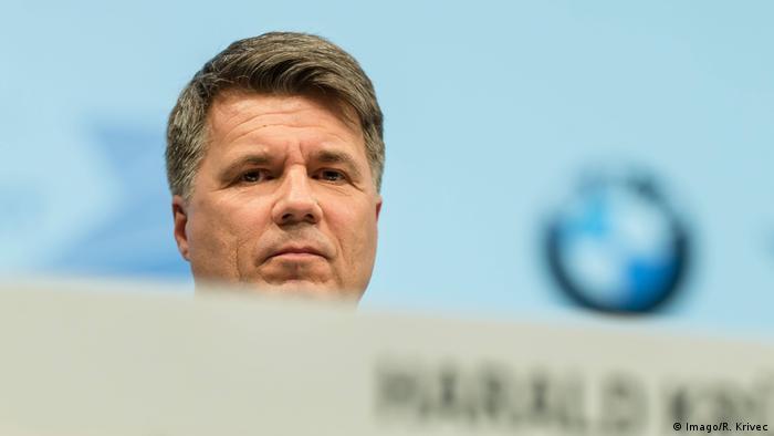 München: Bilanzpressekonferenz der BMW AG mit Harald Krüger (Imago/R. Krivec)