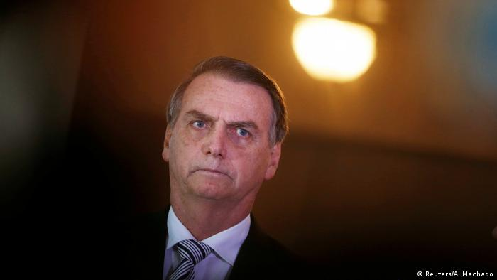 Brasilien, Brasilia: Präsident Jair Bolsonaro
