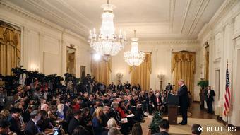 Trump bazı basın mensuplarıyla tartışma yaşadı