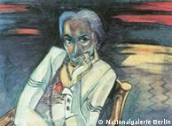 Retrato de Rosa Schapire, obra de Walter Gramatté.