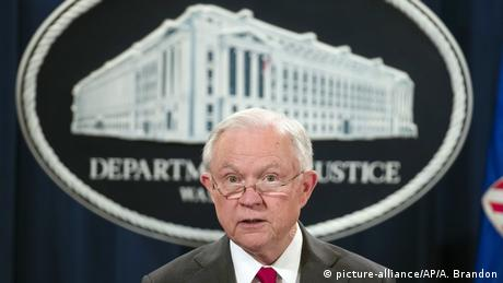 Former Attorney General Jeff Sessions (picture-alliance/AP/A. Brandon)