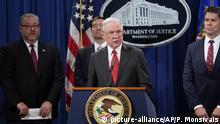 USA: Jeff Sessions wurde entlassen