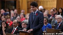 Kanada   Premierminister Trudeau bedauert die Abweisung der mit jüdischen Flüchtlingen besetzte MS St. Louis Gordon im Jahr 1939