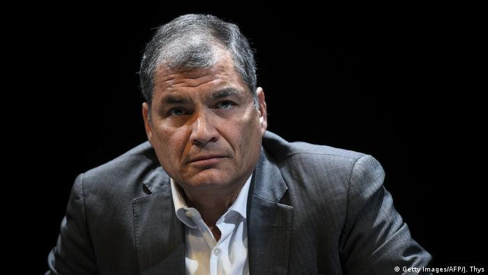 Rafael Correa in 2018 (Getty Images/AFP/J. Thys)