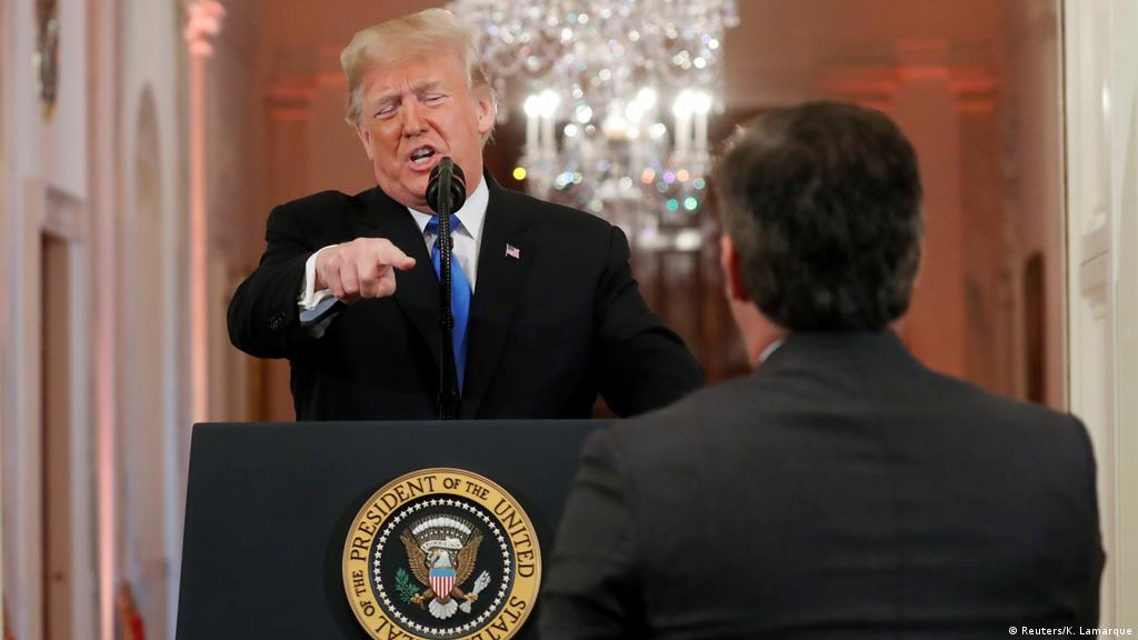 Donald Trump′s biggest fights with journalists | All media content