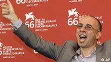 Italian director Giuseppe Tornatore during the photo call for the film 'Baaria' at the 66th edition of the Venice Film Festival in Venice, Italy, Wednesday, Sept. 2, 2009. (AP Photo/Joel Ryan)