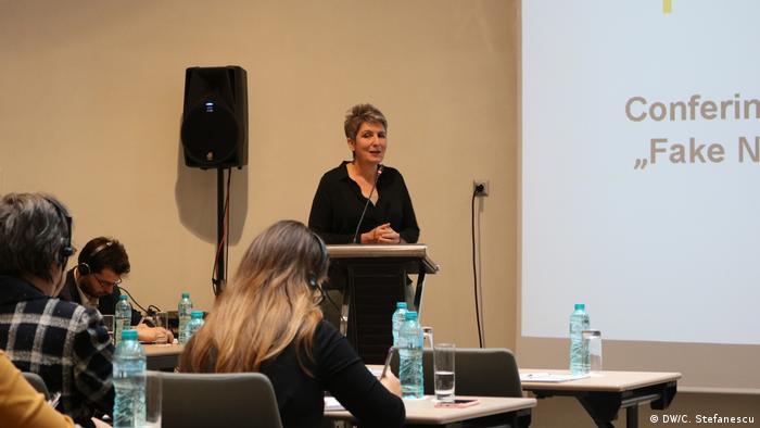 Ines Pohl, Redactor Șef Deutsche Welle (DW/C. Stefanescu)