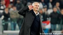 Champions League Juventus v Manchester United Mourinho