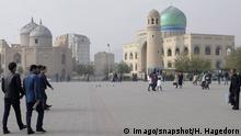 Tadschikistan Chudschand zentraler Panjshanbe Platz