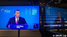 Viktor Orban im TV zur Wahl des EVP Spitzenkandidaten