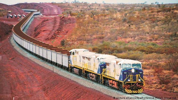 Kompozicija za prevoz rude u Australiji