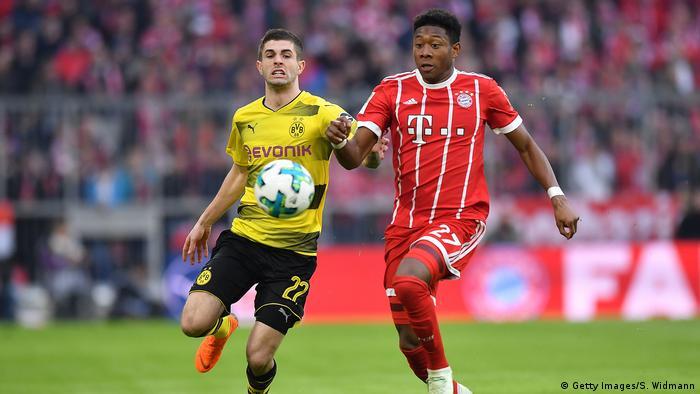 FC Bayern Muenchen v Borussia Dortmund - Bundesliga (Getty Images/S. Widmann)