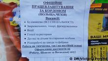 Ukraine Lwiw Lemberg Anzeigen über Arbeit im Ausland