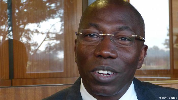 Domingos Simoes Pereira, Präsidente von PAIGC, Partei aus Guinea Bissau (DW/J. Carlos)