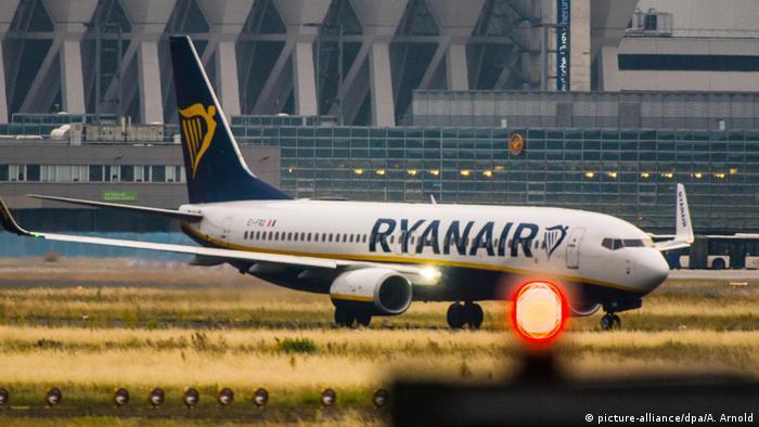 Luftfahrtgesellschaft Ryanair (picture-alliance/dpa/A. Arnold)