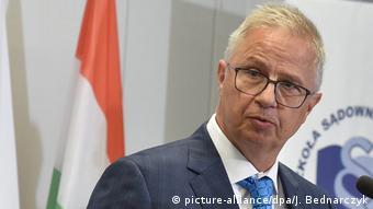 Ungarischer Justizminister Laszlo Trocsanyi (picture-alliance/dpa/J. Bednarczyk)