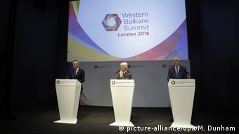 UK EU-Balkan-Treffen (picture-alliance/dpa/M. Dunham)