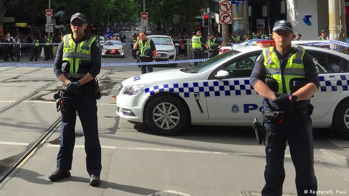 Messerangriff in Melbourne Australien