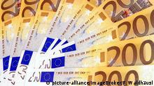 Symbolbild Euro-Geldscheine