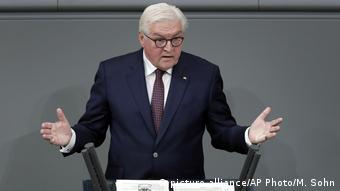 Frank-Walter Steinmeier Bundestag