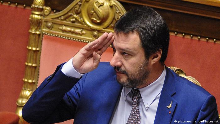 Italien Innenminister Salvini (picture-alliance/Photoshot)