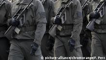 Rekruten der österreichischen Streitkräfte