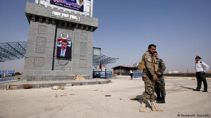 Syrien Nasib Grenze Soldaten Symbolbild