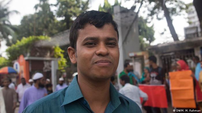 Bangladesh BNP-Reaktion bei der Wahl | Dipankar Shaha (DW/M. M. Rahman)