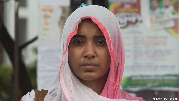 Bangladesh BNP-Reaktion bei der Wahl | Bithi Akter (DW/M. M. Rahman)