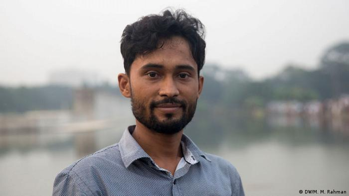 Bangladesh BNP-Reaktion bei der Wahl | Roman Ahmed (DW/M. M. Rahman)