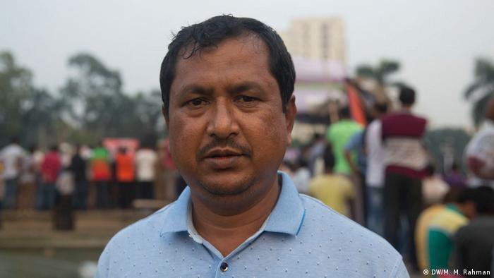 Bangladesh BNP-Reaktion bei der Wahl | Masud Rana Goni (DW/M. M. Rahman)