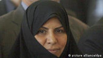 Die neue iranische Gesundheitsministerin Wahid-Dasdscherdi (Foto: dpa)