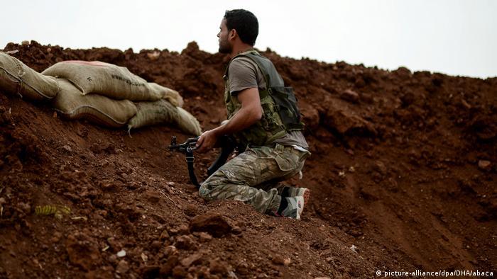 Syrien Krieg Idlib | Kämpfer der Opposition