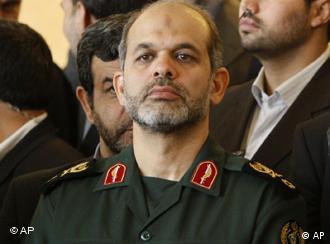 Der neue iranische Verteidigungsminister Wahidi (Foto: AP)