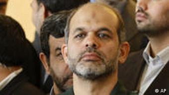 Neuer iranischer Verteidigungsminister Ahmad Wahidi