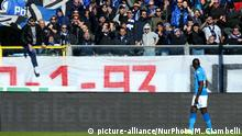 Black football player faces racist chants from the stands