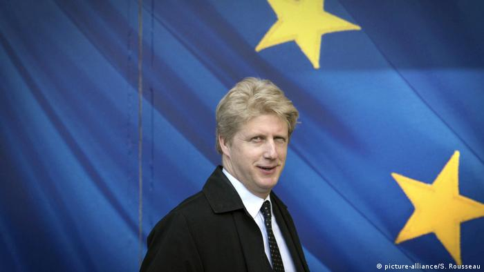 Jo Johnson, the Remain-backing brother of Brexit figurehead Boris Johnson (picture-alliance/S. Rousseau)
