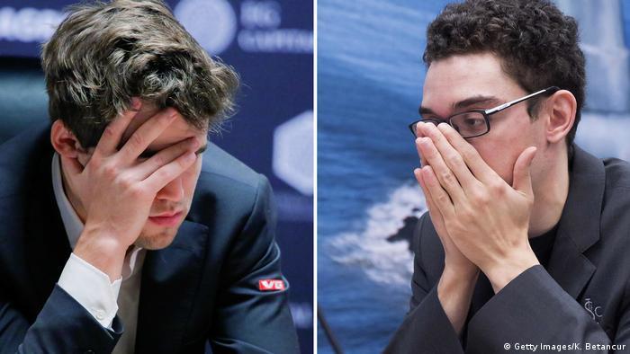 Schach-WM in London (Getty Images/K. Betancur)